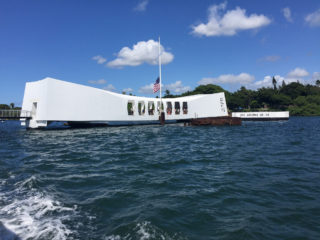 Bezoek aan Pearl Harbor