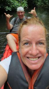 Bloedserieus in de kayak