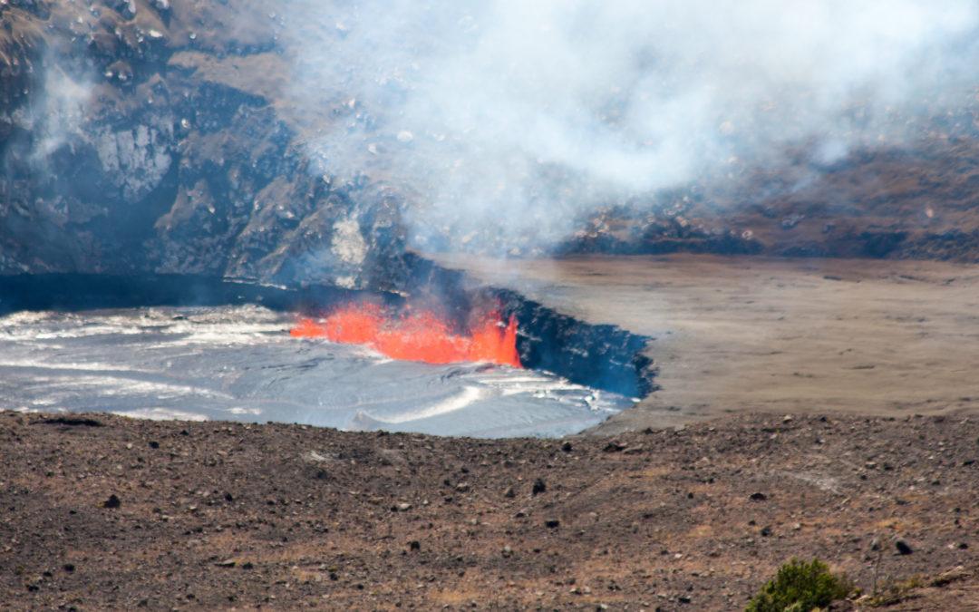 Indrukwekkend Volcano National Park